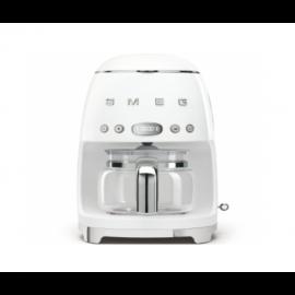 SMEG DCF01WHUK Drip Filter Coffee Machine, White