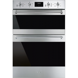 """Smeg 60cm """"Classic"""" Multifunction Double Oven DOSF6300X"""