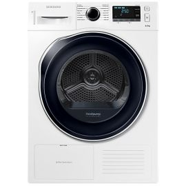 Samsung DV80K6010CW/EU DV6000 Tumble Dryer with Heat Pump Technology, 8kg