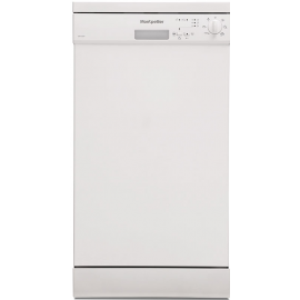 Montpellier DW1064P Freestanding Slimline 45cm White Dishwasher