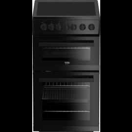 Beko EDVC503B Freestanding 50cm Elecrtric Carmaic Cooker