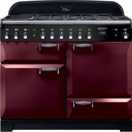 Rangemaster Elan Deluxe 110 Dual Fuel Cranberry ELA110DFFCY/