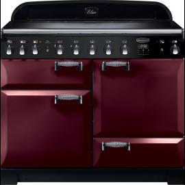Rangemaster Elan Deluxe 110 Electric Induction Cranberry ELA110EICY/