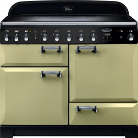 Rangemaster Elan Deluxe 110 Electric Induction Olive Green ELA110EIOG/