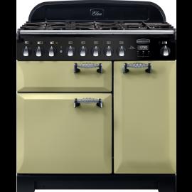 Rangemaster Elan Deluxe 90 Dual Fuel Olive Green ELA90DFFOG/