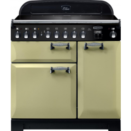 Rangemaster Elan Deluxe 90 Electric Induction Olive Green ELA90EIOG/