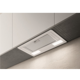 Elica ERA-LUX-WH-60 60cm Deluxe Canopy Cooker Hood - White