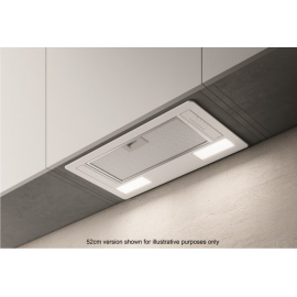 Elica ERA-LUX-WH-80 80cm Deluxe Canopy Cooker Hood - White