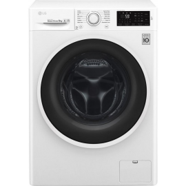 LG ELECTRONICS F4J608WN 8kg 1400 Inverter Direct Drive Washing Machine - BLUE WHITE