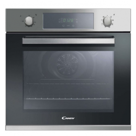 Candy FCP605X/E Large 65 Litre 8 Function Electric Single Oven - Stainless Steel FCP605X/E