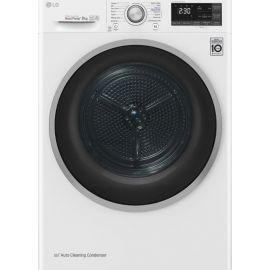 LG FDJ608W Eco Hybrid Heat Pump Dryer 8kg Load White