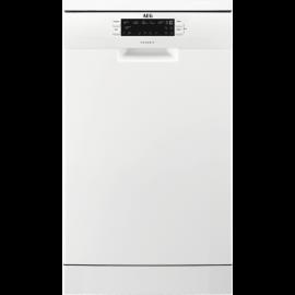 AEG FFB62400PW Freestanding 45cm Slimline Dishwasher White