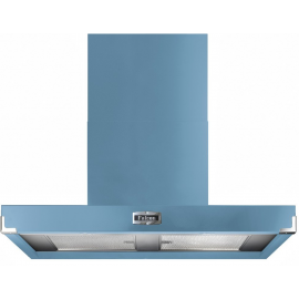 Falcon 900 Contemporary Hood China Blue And Nickel FHDCT900CA/N