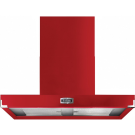 Falcon 900 Contemporary Hood Cherry Red And Nickel FHDCT900RD/N