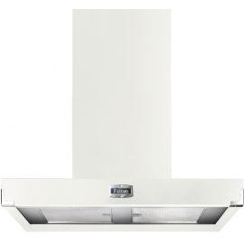 Falcon 1090 Contemporary Hood White And Nickel FHDCT1090WH/N