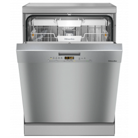 Miele G5000SC CLST Clean Steel Freestanding Dishwasher