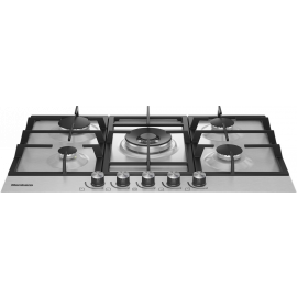 Blomnberg GMB83512 75cm Large Surface Gas Hob With Wok Burner