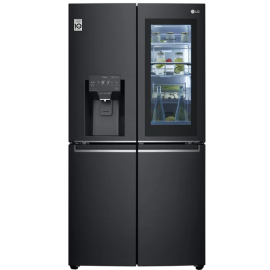 LG GMX945MC9F Instaview Door In Door French Style Fridge Freezer – BLACK STEEL