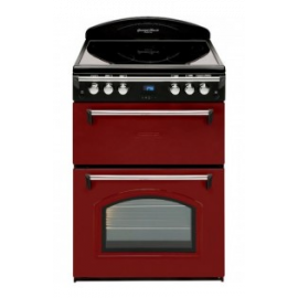 Leisure GRB6CVR - 60cm Electric Cooker Red, Ceramic Hob & Double Oven