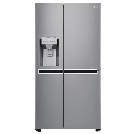 LG GSL960PZBV American Style Smart Fridge Freezer - Shiny Steel(display model)