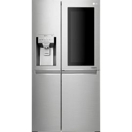 LG GSX960NSVZ Instaview Door In Door Plumbed American Fridge Freezer