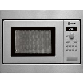 Neff H53W50N3GB 38cm Built In Microwave Oven Stainless Steel