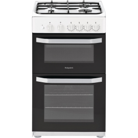 Hotpoint HD5G00KCW 50cm Wide Gas Cooker