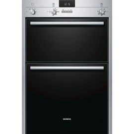 Siemens 3D Hot Air Built In Double Oven HB13MB521B
