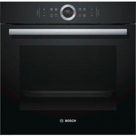 Bosch Series 8 HBG634BB1B Single Oven Black