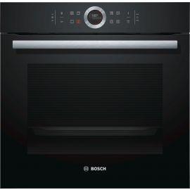 Bosch Series 8 HBG674BB1B Pyrolytic Single Oven Black