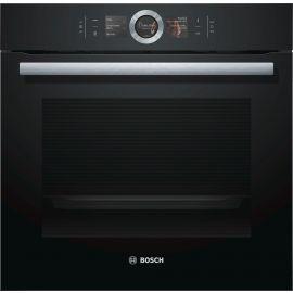 Bosch Series 8 HBG6764B6B Pyrolytic Black Single Oven