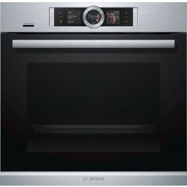 Bosch Series 8 HBG674BS1B Pyrolytic Single Oven Stainless Steel