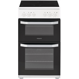 HOTPOINT HD5V92KCW COOKER - WHITE
