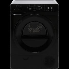 Hisense DHGE901B 9Kg Heat Pump Tumble Dryer - Black