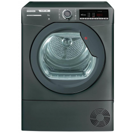 Hoover HLXC8TRGR Condenser Tumble Dryer 8kg Graphite