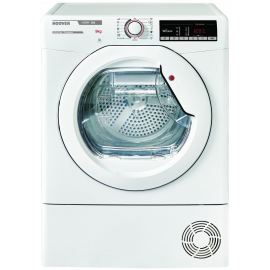 Hoover HLXC9TE Freestanding Condenser Tumble Dryer - White