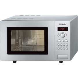 Bosch Series 4 HMT75G451B Freestanding Microwave With Grill Brushed Steel