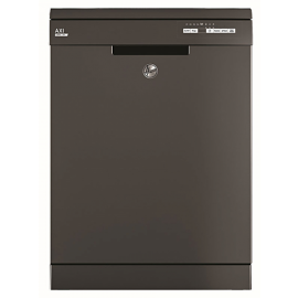 Hoover HSPN 1L390PA Freestanding Full Size Dishwasher Graphite