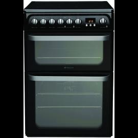 HUE61KS - Hotpoint Ultima HUE61K S 60cm Electric Cooker Black