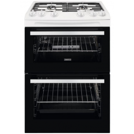 Zanussi ZCG63050WA Gas Cooker with Double Oven