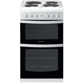 Indesit  ID5E92KMW Elecric Cooker 4 Solid Plate Hobs
