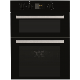 Indesit Aria IDD6340BL Electric Double Built-in Oven in Black