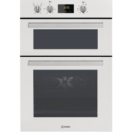 Indesit Aria IDD6340WH Electric Double Built-in Oven in White