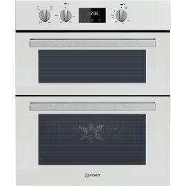 Indesit IDU6340WH Double Built Under Electric Oven