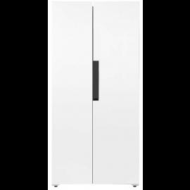 Iceking IK436W American Style Fridge Freezer in White