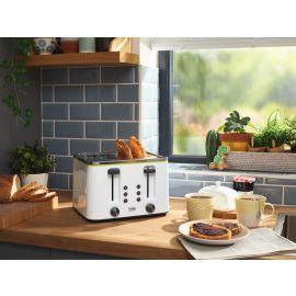 Beko 4 Slot Toaster TAM4341W