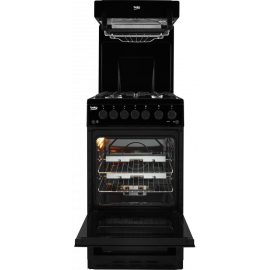 BEKO KA52NEK 50 cm Gas Cooker - Black