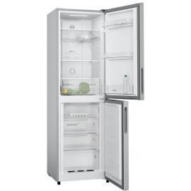 KGN27NLFAG Bosch  55cm Fridge Freezer - Silver - Frost Free