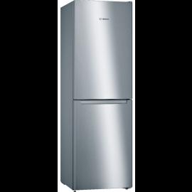 Bosch KGN34NLEAG Freestanding Fridge Freezer Frost Free - Stainless Steel Look