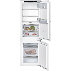 SIEMENS iQ700 Built-in fridge-freezer with freezer at bottom 177.2 x 55.8 cm KI86FPF30G